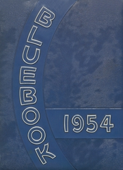 1954 Edition, Hooker High School - Bluebook Yearbook (Hooker, OK)