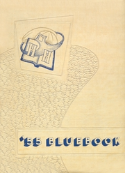1955 Edition, Hooker High School - Bluebook Yearbook (Hooker, OK)