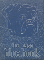 1956 Edition, Hooker High School - Bluebook Yearbook (Hooker, OK)
