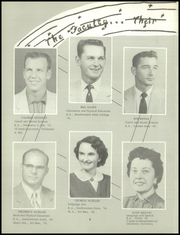 Page 12, 1957 Edition, Hooker High School - Bluebook Yearbook (Hooker, OK) online yearbook collection