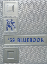 1958 Edition, Hooker High School - Bluebook Yearbook (Hooker, OK)