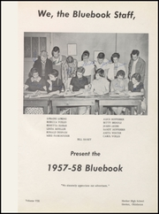 Page 5, 1958 Edition, Hooker High School - Bluebook Yearbook (Hooker, OK) online yearbook collection