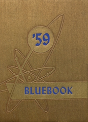 1959 Edition, Hooker High School - Bluebook Yearbook (Hooker, OK)