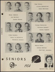Page 11, 1954 Edition, Clayton High School - Bulldog Yearbook (Clayton, OK) online yearbook collection