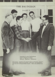 Page 15, 1956 Edition, Shattuck High School - Indian Yearbook (Shattuck, OK) online yearbook collection