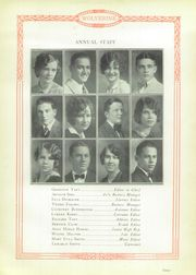 Page 11, 1928 Edition, Garber High School - Wolverine Yearbook (Garber, OK) online yearbook collection