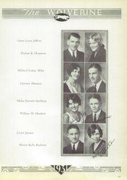 Page 17, 1931 Edition, Garber High School - Wolverine Yearbook (Garber, OK) online yearbook collection