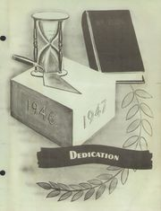 Page 3, 1947 Edition, Cherokee High School - Arrowhead Yearbook (Cherokee, OK) online yearbook collection