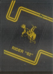 Hulbert High School - Rider Yearbook (Hulbert, OK) online yearbook collection, 1982 Edition, Page 1