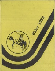 1983 Edition, Hulbert High School - Rider Yearbook (Hulbert, OK)