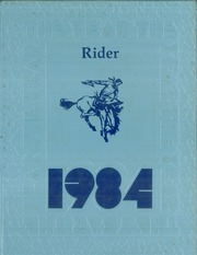 Hulbert High School - Rider Yearbook (Hulbert, OK) online yearbook collection, 1984 Edition, Page 1