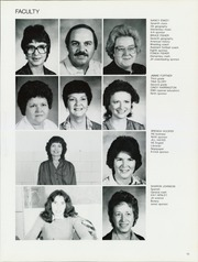 Page 17, 1985 Edition, Hulbert High School - Rider Yearbook (Hulbert, OK) online yearbook collection