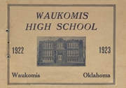 1923 Edition, Waukomis High School - Chief Yearbook (Waukomis, OK)