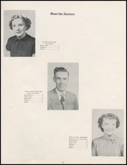 Page 15, 1952 Edition, Turpin High School - Cardinal Yearbook (Turpin, OK) online yearbook collection