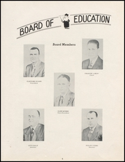 Page 9, 1952 Edition, Turpin High School - Cardinal Yearbook (Turpin, OK) online yearbook collection