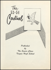 Page 9, 1954 Edition, Turpin High School - Cardinal Yearbook (Turpin, OK) online yearbook collection