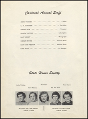 Page 10, 1956 Edition, Turpin High School - Cardinal Yearbook (Turpin, OK) online yearbook collection