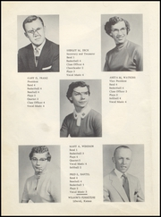 Page 12, 1956 Edition, Turpin High School - Cardinal Yearbook (Turpin, OK) online yearbook collection