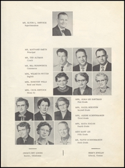 Page 9, 1956 Edition, Turpin High School - Cardinal Yearbook (Turpin, OK) online yearbook collection