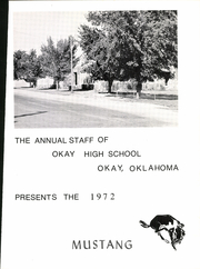 Page 5, 1972 Edition, Okay High School - Mustang Yearbook (Okay, OK) online yearbook collection