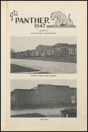 Page 5, 1947 Edition, Oilton High School - Panther Yearbook (Oilton, OK) online yearbook collection