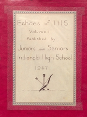 1947 Edition, Indianola High School - Tomahawk Yearbook (Indianola, OK)