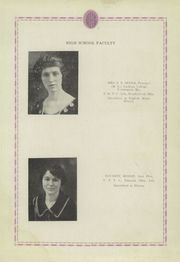 Page 15, 1925 Edition, Blair High School - Bronc Yearbook (Blair, OK) online yearbook collection