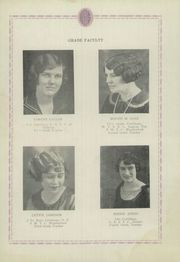 Page 16, 1925 Edition, Blair High School - Bronc Yearbook (Blair, OK) online yearbook collection