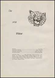 Page 8, 1958 Edition, Fletcher High School - Wildcat Yearbook (Fletcher, OK) online yearbook collection