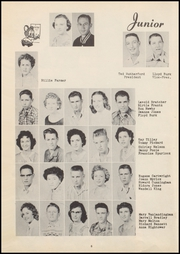 Page 12, 1957 Edition, Vanoss High School - Wolf Call Yearbook (Ada, OK) online yearbook collection