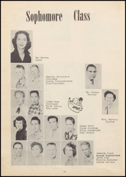 Page 14, 1957 Edition, Vanoss High School - Wolf Call Yearbook (Ada, OK) online yearbook collection