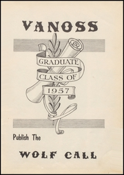 Page 5, 1957 Edition, Vanoss High School - Wolf Call Yearbook (Ada, OK) online yearbook collection