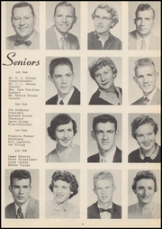 Page 9, 1957 Edition, Vanoss High School - Wolf Call Yearbook (Ada, OK) online yearbook collection