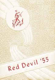1955 Edition, Texhoma High School - Red Devil Yearbook (Texhoma, OK)