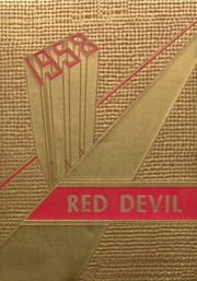 1958 Edition, Texhoma High School - Red Devil Yearbook (Texhoma, OK)