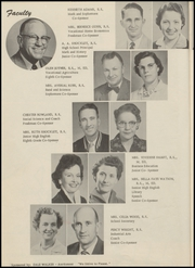 Page 10, 1957 Edition, Mountain View High School - Tiger Yearbook (Mountain View, OK) online yearbook collection