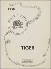 Page 5, 1958 Edition, Mountain View High School - Tiger Yearbook (Mountain View, OK) online yearbook collection