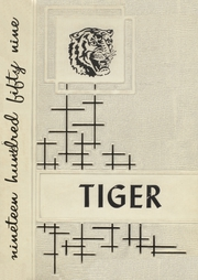 1959 Edition, Mountain View High School - Tiger Yearbook (Mountain View, OK)