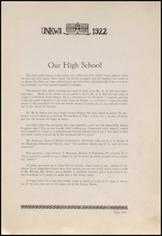 Page 13, 1922 Edition, Copan High School - Unkwa Yearbook (Copan, OK) online yearbook collection