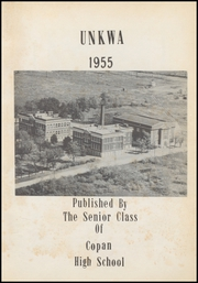 Page 7, 1955 Edition, Copan High School - Unkwa Yearbook (Copan, OK) online yearbook collection