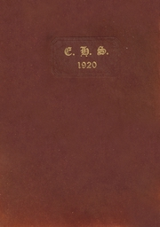 1920 Edition, Erick High School - Bearcat Yearbook (Erick, OK)