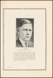 Page 11, 1925 Edition, Erick High School - Bearcat Yearbook (Erick, OK) online yearbook collection