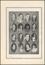 Page 14, 1925 Edition, Erick High School - Bearcat Yearbook (Erick, OK) online yearbook collection