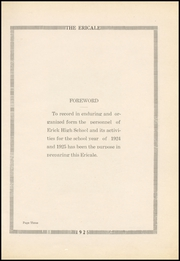 Page 7, 1925 Edition, Erick High School - Bearcat Yearbook (Erick, OK) online yearbook collection