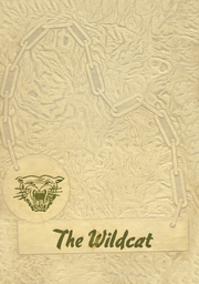 1953 Edition, Wister High School - Wildcat Yearbook (Wister, OK)