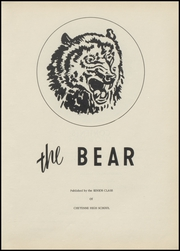 Page 7, 1953 Edition, Cheyenne High School - Bear Yearbook (Cheyenne, OK) online yearbook collection