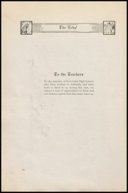 Page 12, 1922 Edition, Fort Cobb High School - Longhorn Yearbook (Fort Cobb, OK) online yearbook collection