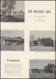Page 7, 1955 Edition, Olive High School - Wildcat Yearbook (Drumright, OK) online yearbook collection
