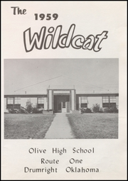 Page 7, 1959 Edition, Olive High School - Wildcat Yearbook (Drumright, OK) online yearbook collection