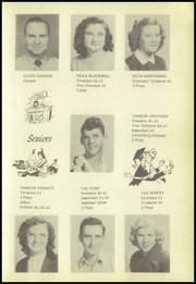 Page 17, 1952 Edition, Smithville High School - Chieftain Yearbook (Smithville, OK) online yearbook collection